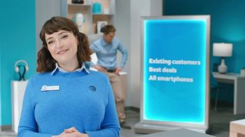 AT&T Wireless TV Spot, 'Lily Rotating Sign + Samsung Galaxy Z Fold3 5G'