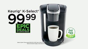 Kohl's TV Spot, 'Epic Deals: Sonoma Tops, Shoes and Keurig' - Thumbnail 3