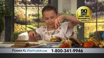 PowerXL Stuffed Wafflizer TV Spot, 'You Can Wafflize Anything: 90 Day Guarantee' - Thumbnail 10