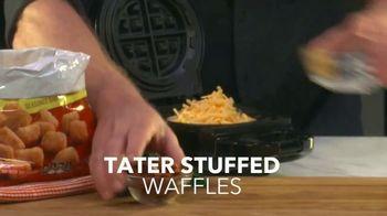 PowerXL Stuffed Wafflizer TV Spot, 'You Can Wafflize Anything: 90 Day Guarantee' - Thumbnail 7