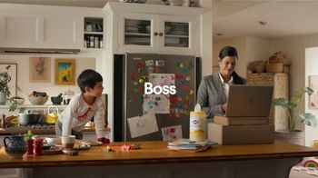 Clorox Paper Towel Wipes TV Spot, 'Boss and Mama'