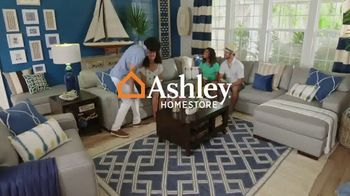 Ashley HomeStore Labor Day Sale TV Spot, 'Ends Monday: 30% Off, Queen Bed and 0% Interest' - Thumbnail 1