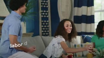 Ashley HomeStore Labor Day Sale TV Spot, 'Ends Monday: 30% Off, Queen Bed and 0% Interest' - Thumbnail 2