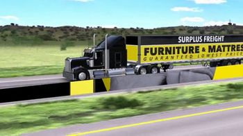 Surplus Discount Furniture & Mattress Warehouse $1 Down Event TV Spot, 'Motion Sofas and Bedrooms' - Thumbnail 2