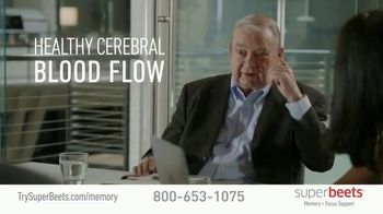 SuperBeets Memory + Focus Chews TV Spot, 'SuperBeets Support Your Brain Health' Featuring Ferid Murad - Thumbnail 1