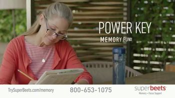 SuperBeets Memory + Focus Chews TV Spot, 'SuperBeets Support Your Brain Health' Featuring Ferid Murad - Thumbnail 2