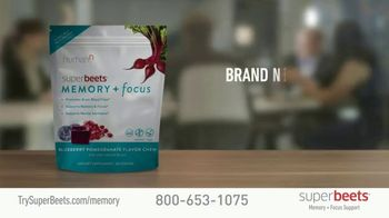 SuperBeets Memory + Focus Chews TV Spot, 'SuperBeets Support Your Brain Health' Featuring Ferid Murad - Thumbnail 3