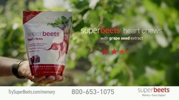 SuperBeets Memory + Focus Chews TV Spot, 'SuperBeets Support Your Brain Health' Featuring Ferid Murad - Thumbnail 7