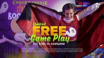 Chuck E. Cheese's Halloween Boo-Tacular TV Spot, 'Limited Free Game Play & New Shows' - Thumbnail 6