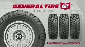 PowerNation General Tire Sweepstakes TV TV Spot, 'Tight Lines'