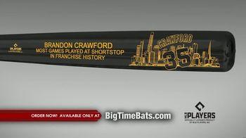 Big Time Bats TV Spot, 'Brandon Crawford Record' - Thumbnail 1