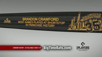 Big Time Bats TV Spot, 'Brandon Crawford Record' - Thumbnail 2