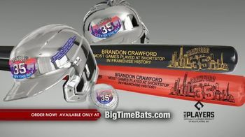Big Time Bats TV Spot, 'Brandon Crawford Record' - Thumbnail 5