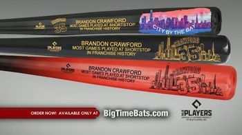 Big Time Bats TV Spot, 'Brandon Crawford Record' - Thumbnail 6