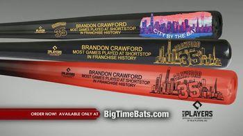 Big Time Bats TV Spot, 'Brandon Crawford Record' - Thumbnail 7