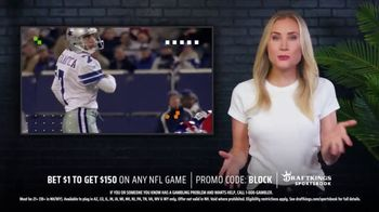 DraftKings SportsBook TV Spot, 'The NFL Is Back' Featuring Martin Gramatica - Thumbnail 4
