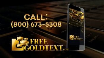 FreeGoldText.com TV Spot, 'Inflation Is Here' - Thumbnail 9