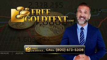 FreeGoldText.com TV Spot, 'Inflation Is Here' - Thumbnail 1