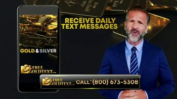 FreeGoldText.com TV Spot, 'Inflation Is Here' - Thumbnail 6