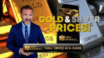 FreeGoldText.com TV Spot, 'Gold and Silver Prices'