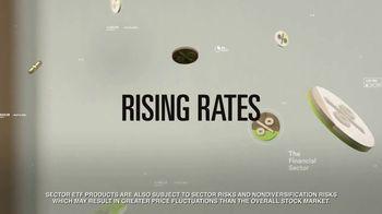 Select Sector SPDRs XLF TV Spot, 'Rising Rates' - Thumbnail 3