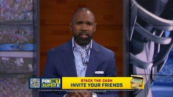 FOX Bet Super 6 TV Spot, 'Stack the Cash: College Football Contest' Featuring Charles Woodson