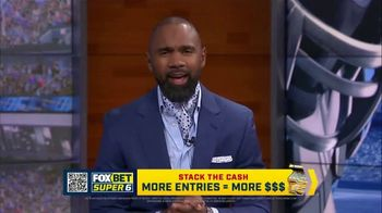 FOX Bet Super 6 TV Spot, 'Stack the Cash: College Football Contest' Featuring Charles Woodson - Thumbnail 2