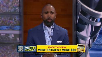 FOX Bet Super 6 TV Spot, 'Stack the Cash: College Football Contest' Featuring Charles Woodson - Thumbnail 3
