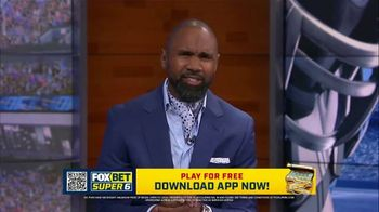 FOX Bet Super 6 TV Spot, 'Stack the Cash: College Football Contest' Featuring Charles Woodson - Thumbnail 9