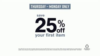 Ashley HomeStore Love it for Less Sale TV Spot, '25% Off + 20% Off' - Thumbnail 5