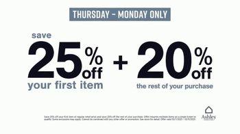 Ashley HomeStore Love it for Less Sale TV Spot, '25% Off + 20% Off' - Thumbnail 6