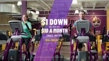Planet Fitness TV Spot, 'Stressed: $1 Down, $10 a Month'