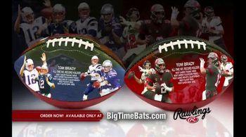 Big Time Bats TV Spot, 'Tom Brady Passing Yards'