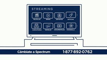 Spectrum TV and Internet TV Spot, 'Súper rápido: Sports Pack' [Spanish]