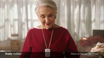 Lively Mobile+ TV Spot, 'Mom Lives Alone: $24.99' Featuring John Walsh