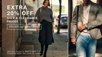 Macy's Star Money Bonus Days TV Spot, 'Trademark Fall Look: Extra 20% Off'