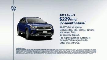 2022 Volkswagen Taos TV Spot, 'Raccoons: Taos' [T2] - Thumbnail 10