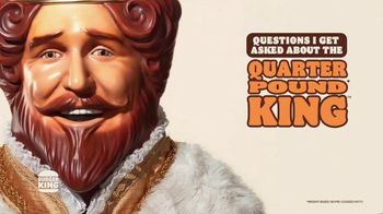 Burger King Quarter Pound King 2 for $6 TV Spot, 'Questions' Song by Hoàng Read - Thumbnail 1
