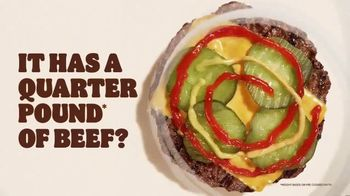 Burger King Quarter Pound King 2 for $6 TV Spot, 'Questions' Song by Hoàng Read - Thumbnail 4