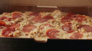 Panera Bread Sausage & Pepperoni Flatbread Pizza TV Spot, 'Live Your Yes: No Offer' - Thumbnail 3