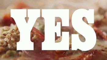 Panera Bread Sausage & Pepperoni Flatbread Pizza TV Spot, 'Live Your Yes: No Offer' - Thumbnail 5