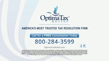 Optima Tax Relief TV Spot, 'Actual Optima Client: William' - Thumbnail 9