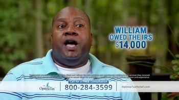 Optima Tax Relief TV Spot, 'Actual Optima Client: William' - Thumbnail 2