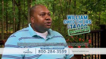 Optima Tax Relief TV Spot, 'Actual Optima Client: William' - Thumbnail 4