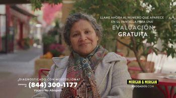 Morgan & Morgan Law Firm TV Spot, 'Mesotelioma' [Spanish]