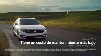 2021 Volkswagen Jetta TV Spot, 'Costo de mantenimiento' [Spanish] [T2]