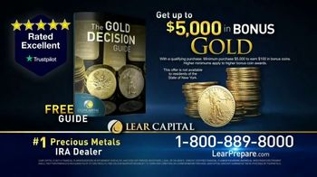 Lear Capital TV Spot, 'Peace of Mind During Financial Chaos: Free Guide' - Thumbnail 9
