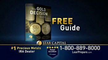 Lear Capital TV Spot, 'Peace of Mind During Financial Chaos: Free Guide' - Thumbnail 7