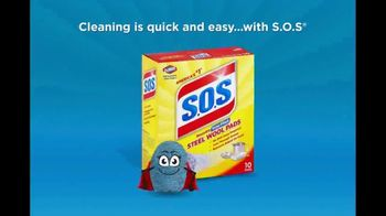 Clorox S.O.S Steel Wool Pads TV Spot, 'Easy Camping Cleanup' - Thumbnail 6