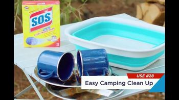 Clorox S.O.S Steel Wool Pads TV Spot, 'Easy Camping Cleanup' - Thumbnail 2